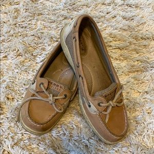 Sperry Top-Sider Women's Tan Brown Leather Shoes